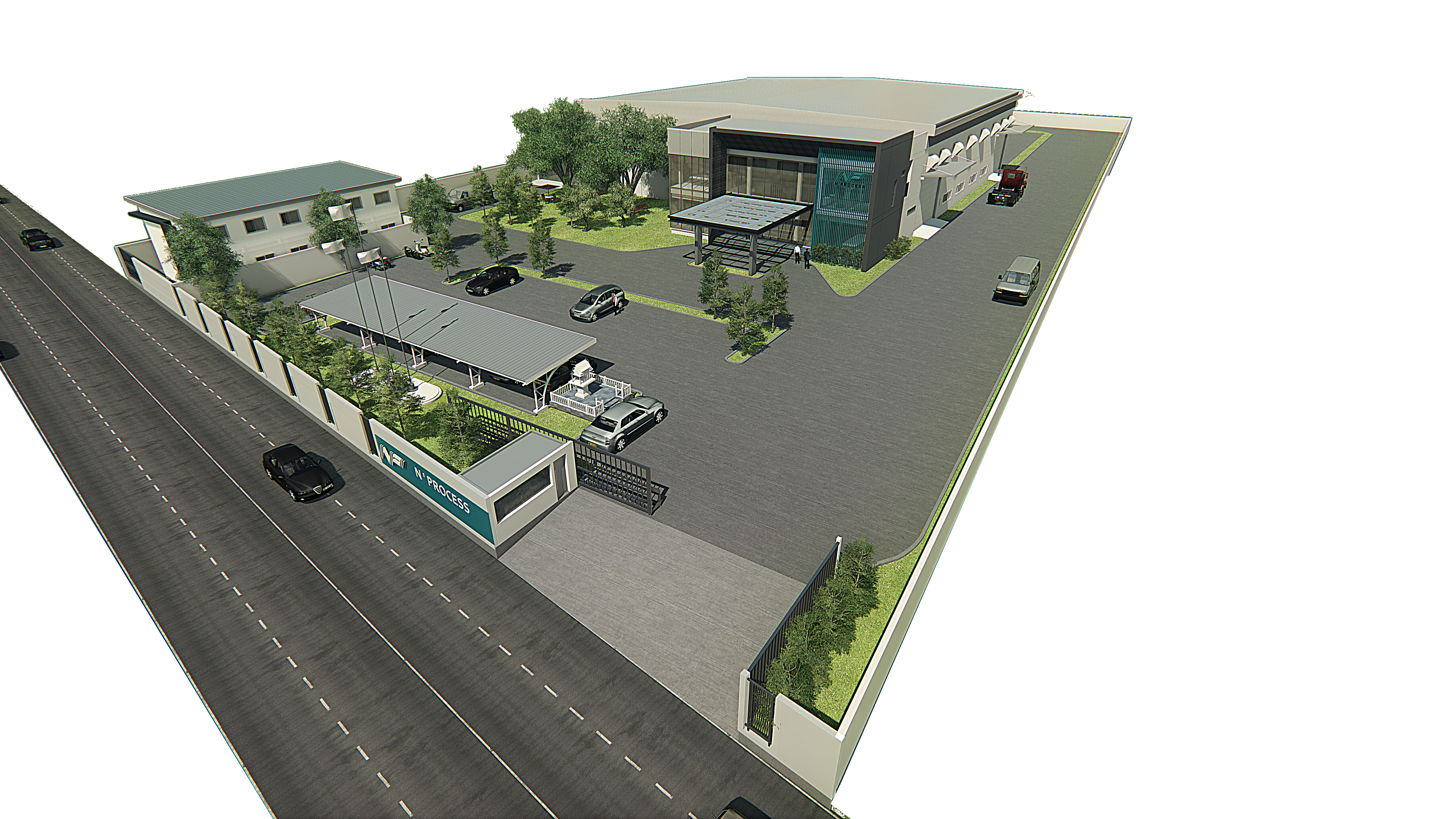 Factory-alma architect