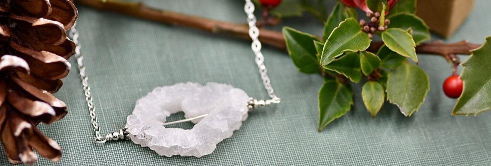 Large Stalactite Slice Necklace