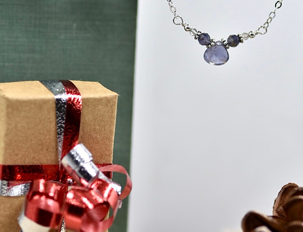 Iolite Lovely Necklace
