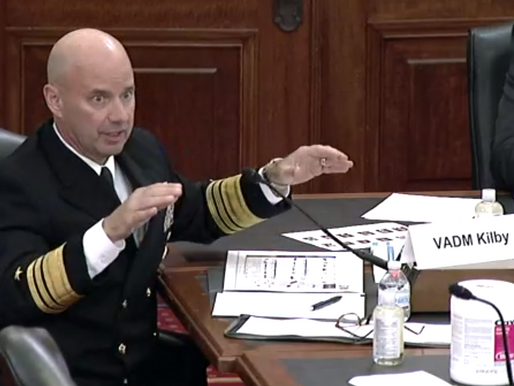 Biden budget not enough to 'pace the adversary,' says top Navy official