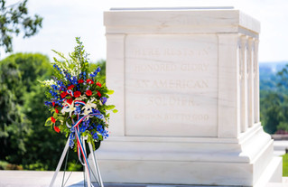 AUSN's Wreath at the Tomb of the Unknown Soldier