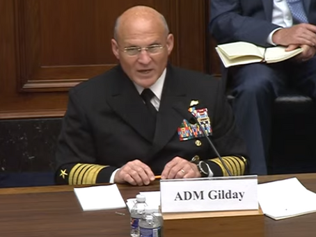 Navy sounds the alarm on China: 'America's enduring advantage at sea is eroding'