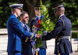 AUSN Wreath Laying Ceremony