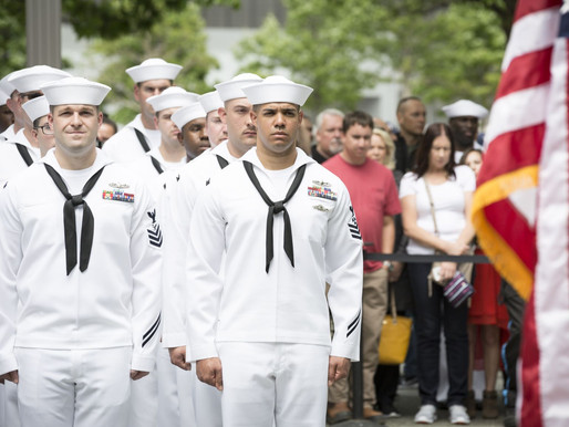 Navy leaders list climate change, extremism, diversity as priorities