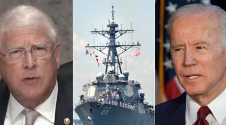 Senator protests Navy ship plan by slowing down Pentagon nominee