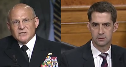 Culture Clash: Sen. Tom Cotton battles Navy over 'antiracist' book recommendations