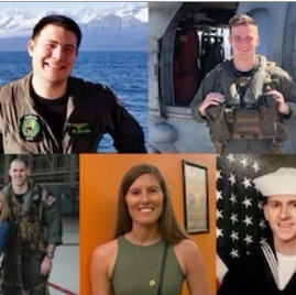 Navy identifies five killed in helicopter crash near San Diego