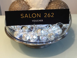 Avoid the Post Christmas Blues with £10 off Salon 262 Gift Vouchers
