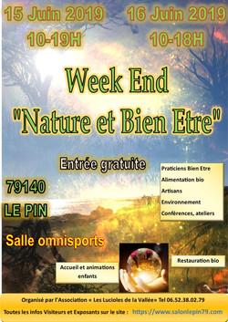 Affiche salon Nature et Bien Etre  06201