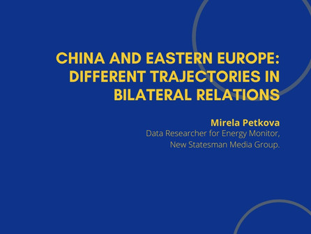 10th Webinar - China and Eastern Europe: Different Trajectories in Bilateral Relations