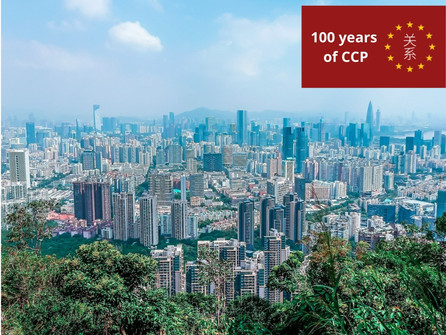 The CPC and the Growth of Guangdong Province: the Case of Shenzhen