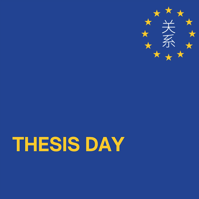 Thesis Day (June Edition)