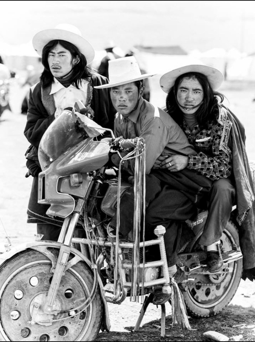 Three Men | Bike | Tibet