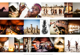 Crookes&Jackson created a Photographic Visual Language for Jacks Camp, Uncharted Africa, Makgadi
