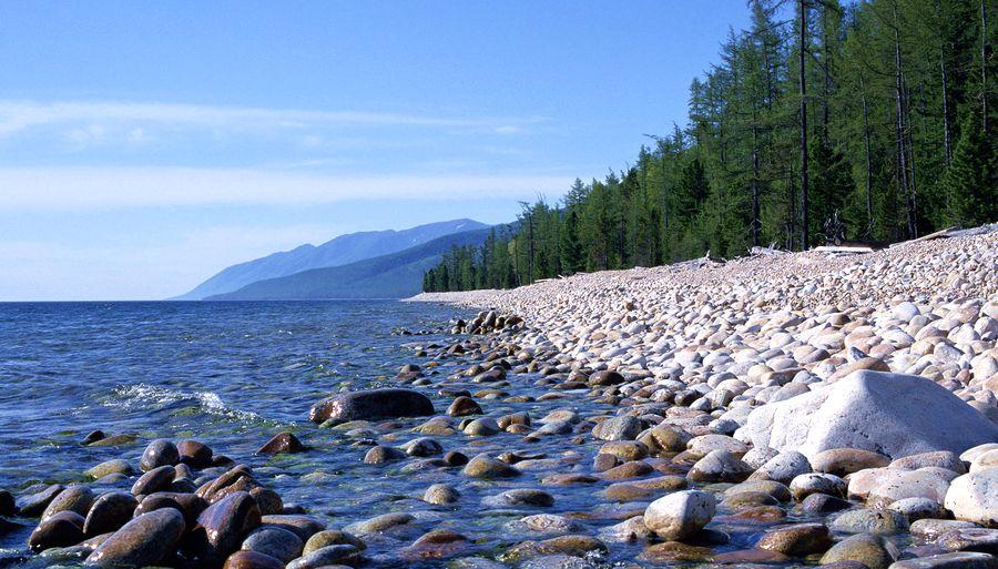 Искупаться в озере-Байкал