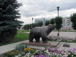 Памятник  МЕДВЕДЮ!