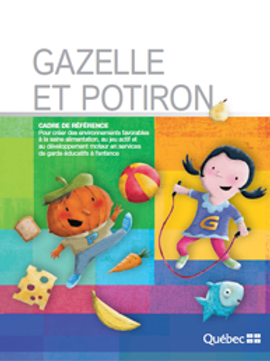 Gazelle et Potiron
