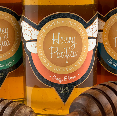 Honey Pacifica | Rebrand