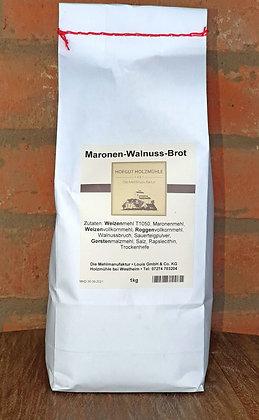 Maronen-Walnuss-Brotbackmischung 1kg