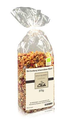 Cranberry Johannisbeer Müsli 375g