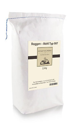 Roggenmehl Type 997    2,5kg