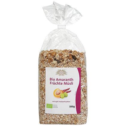 Bio Amaranth Früchte Müsli 500g