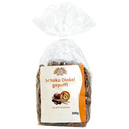 Schoko Dinkel gepufft 200g