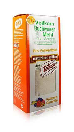 Buchweizen-Vollkornmehl Bio 1kg