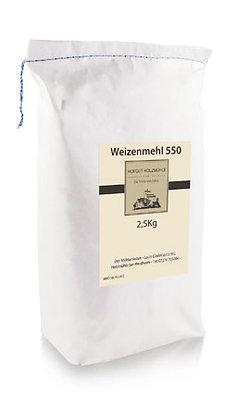 Weizenmehl Type 550  2,5kg