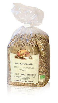 7 Korn Getreide Bio 1kg