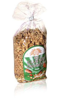 Nuss Crunchy Cluster Bio 375g