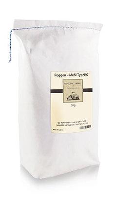 Roggenmehl Type 997    5kg