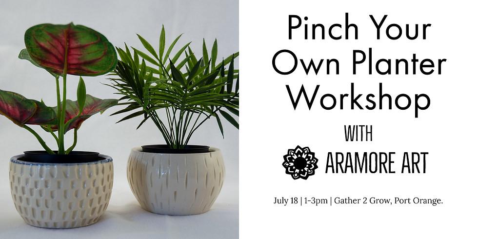 Pinch your Own Planter Workshop