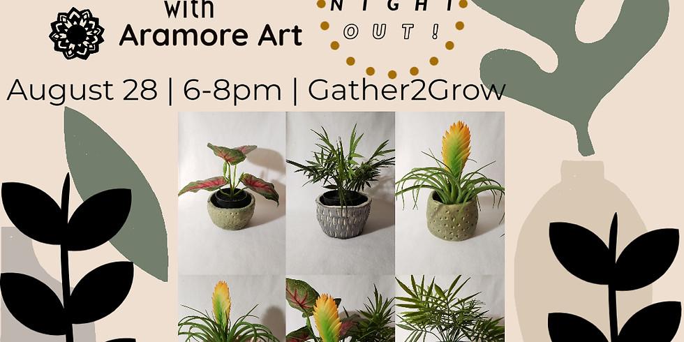 Pinch your Own Planter Workshop -August