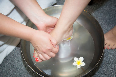 Manicure foot bath