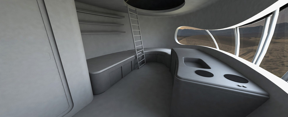 Interior : Living Unit 01