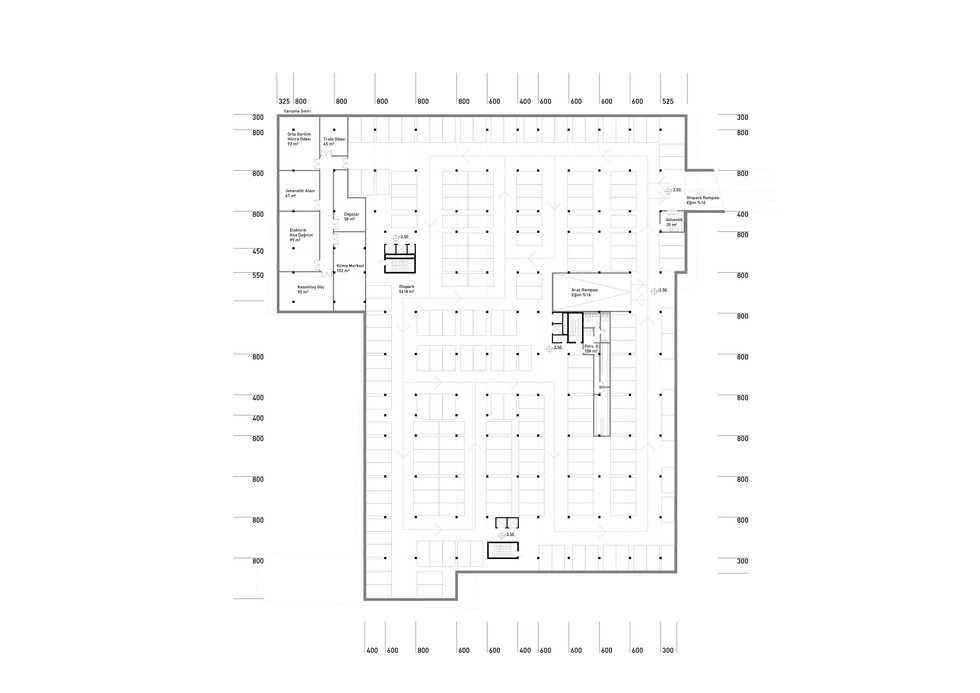 First Basement Floor Plan