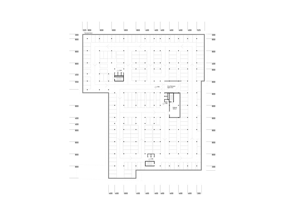 Second Basement Floor Plan