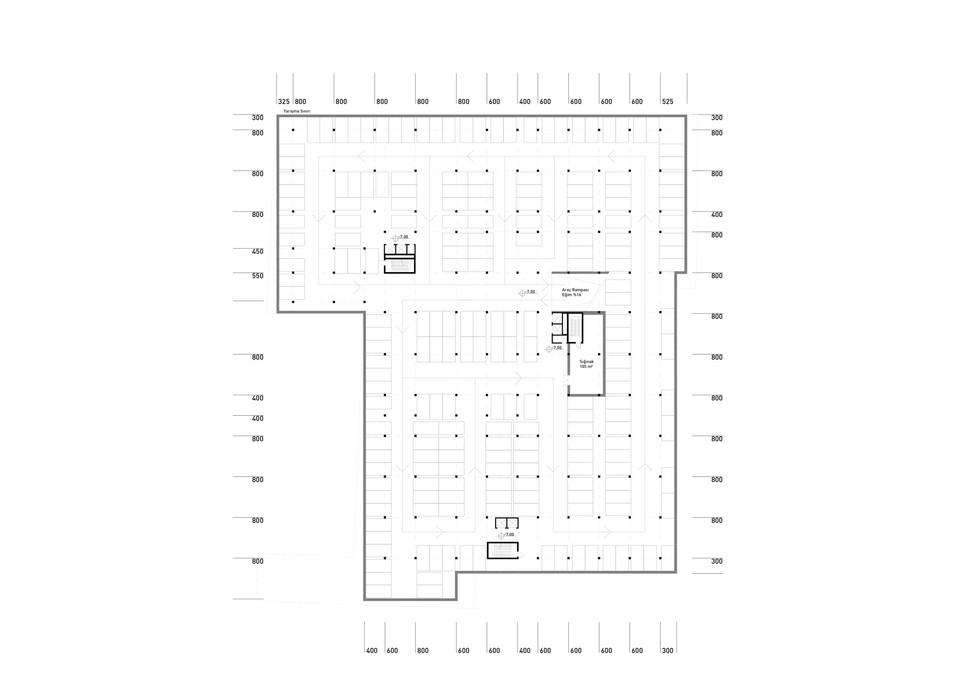 Second Basement Floor Plan