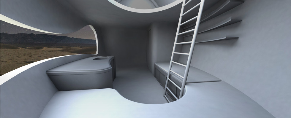 Interior : Living Unit 02