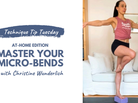 Technique Tip Tuesday @ Home Edition - Ballet Basics for Straight & Active Legs!