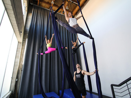 Feeling frustrated in aerial class? This may help...