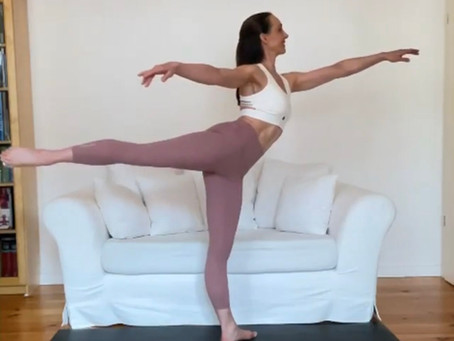 Technique Tip - Improve your Arabesque + back leg in splits!