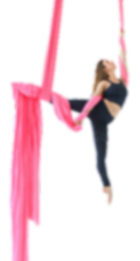 Alyssa Caliendo Aerial Silk instructor at Aeril Physique in Los Angeles