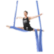 Joseph Pinzon an aerial silks instructor at Aerial Physique in Los Angeles