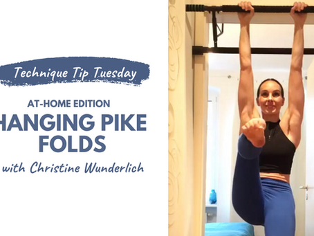 Technique Tip Tuesday @ Home Edition - Hanging Pike Fold