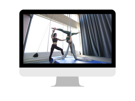 Firsthand review of our Aerial Edge Virtual Coaching Program!