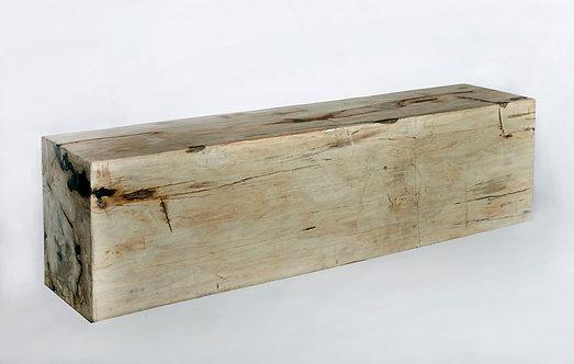 PETRIFIED WOOD BENCH