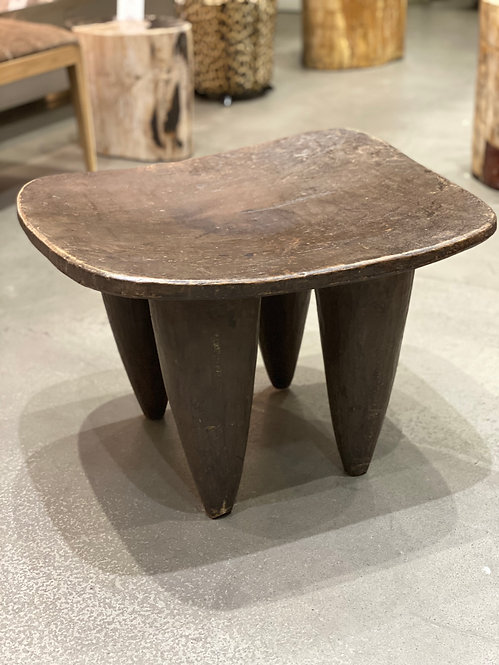 LARGE SENUFO STOOL