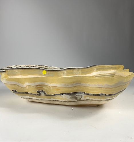 HANDCARVED ONYX BOWL